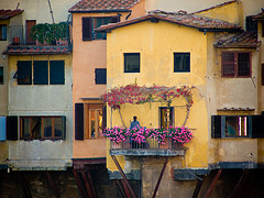The Ponte Vecchio (detail) -                   ph.Christopher Holland