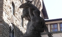 The Loggia                     dei Lanzi - Florence's outdoor sculpture museum